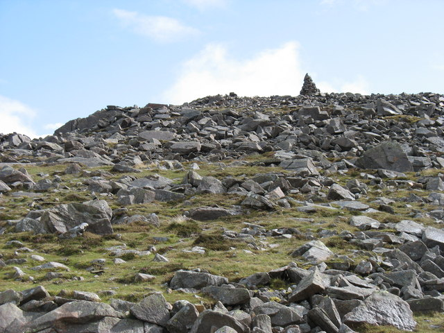 Approaching the summit of Carrock Fell