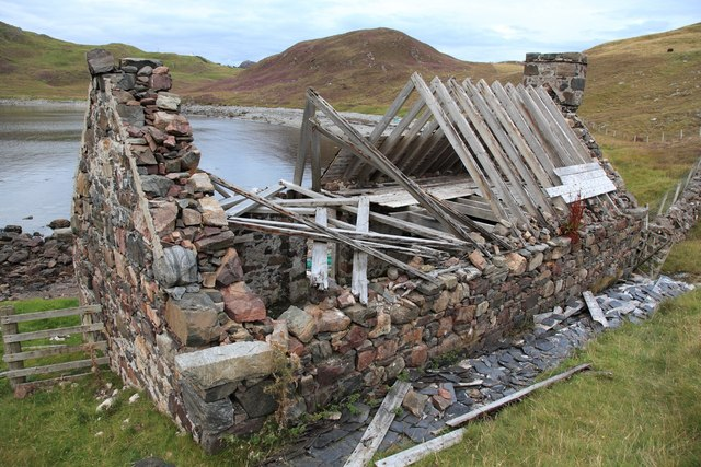 Ruined house near Scourie