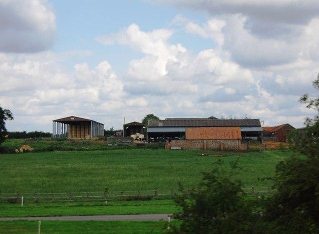Farm buildings, Attleborough Hall