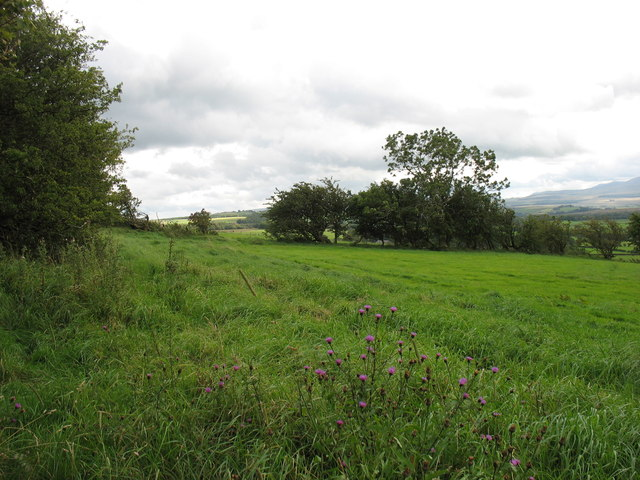 The footpath from Hutton Roof to Low Mill