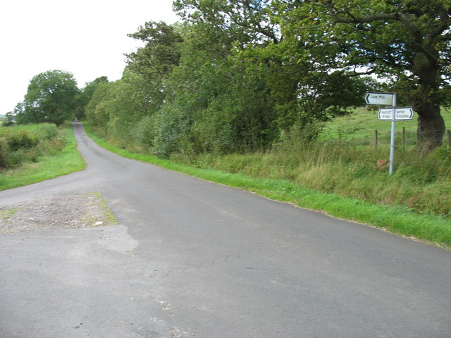 The Low Mill road junction