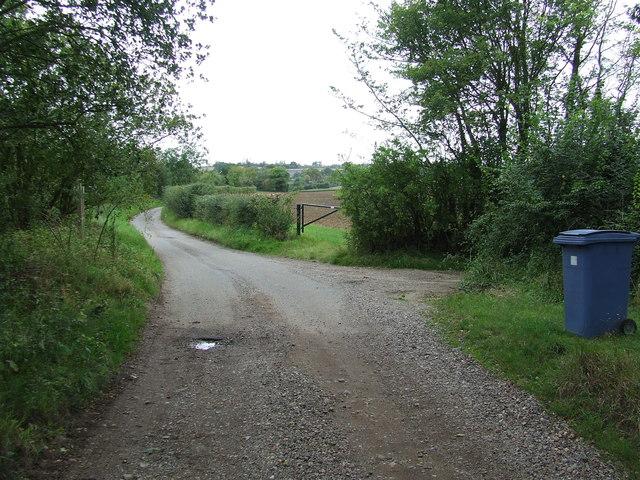 Start Of Public Road