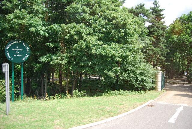 Colney Woodland Burial Park