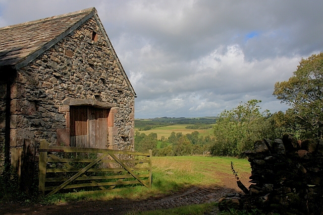 Gate and Gable of Barn
