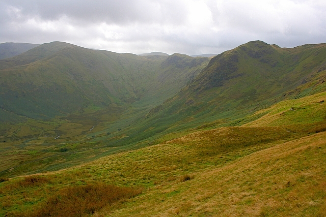 View up Bannerdale
