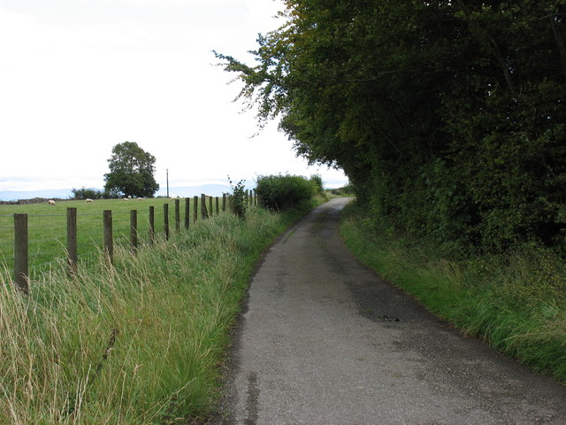 The old A66 east of Penruddock