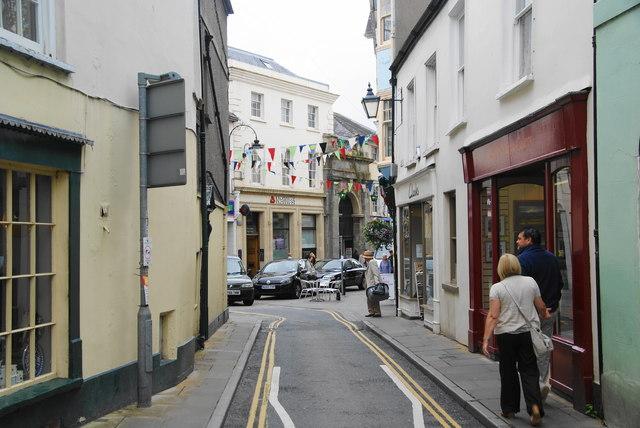 Lion Street, Brecon