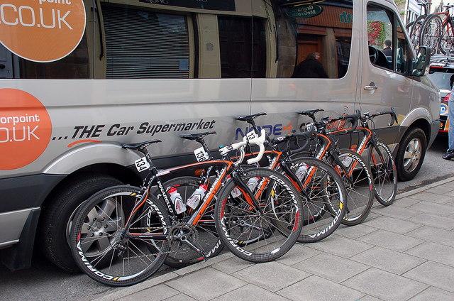 Racing bikes, Peebles