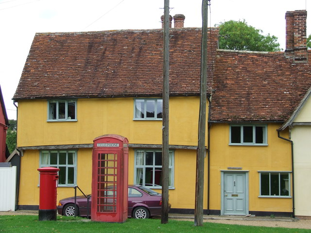 Red Boxes And Cottages