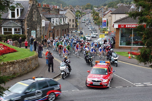 Competitors in the 2011 Tour of Britain, Peebles