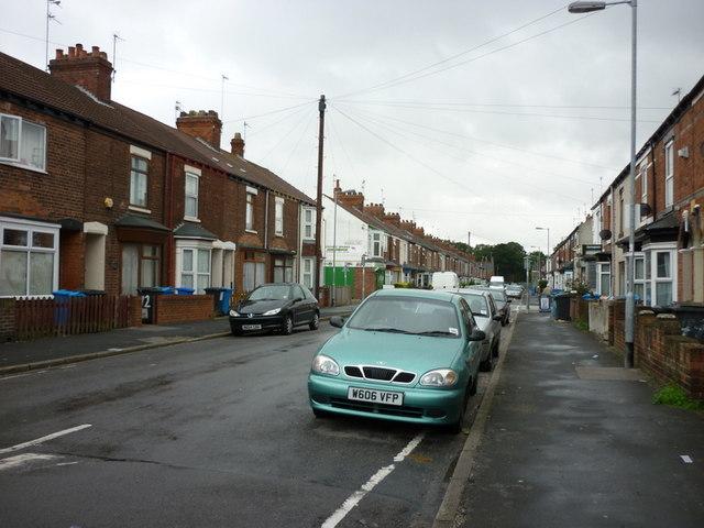 Worthing Street, Kingston upon Hull