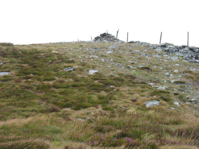 Great Calva summit from the south