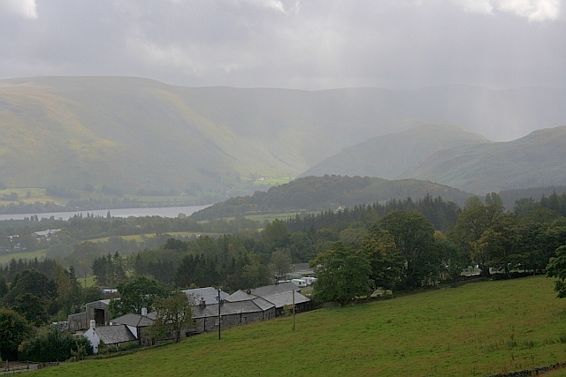 View Over Cove to Ullswater