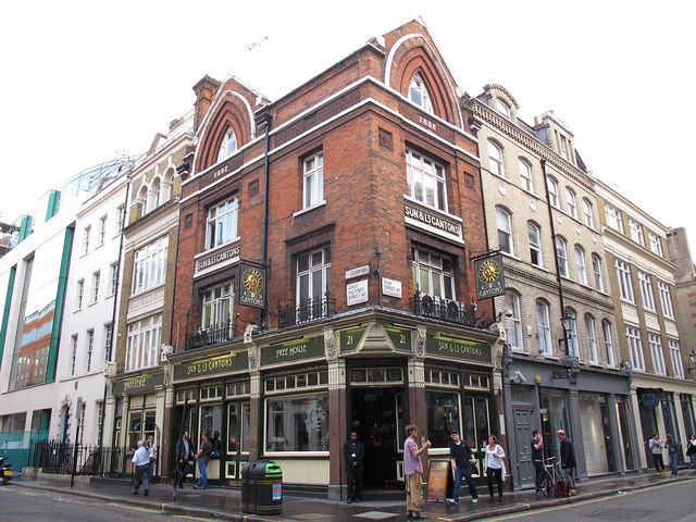 The Sun and 13 Cantons, Great Pulteney Street
