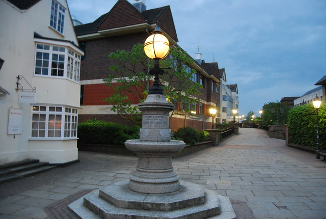 Lampstand outside County Hall