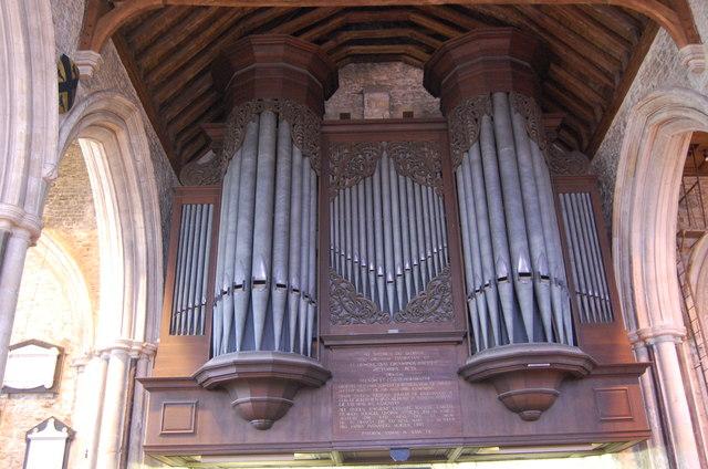 Organ in St Thomas the Martyr, Winchelsea