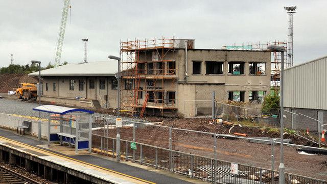 New train maintenance depot, Belfast (9)