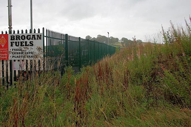 Perimeter Fence to Industrial Estate