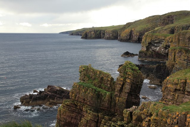 Cliffs near Ulbster