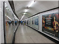 TQ3080 : Passageway at Charing Cross tube station by Stephen Craven
