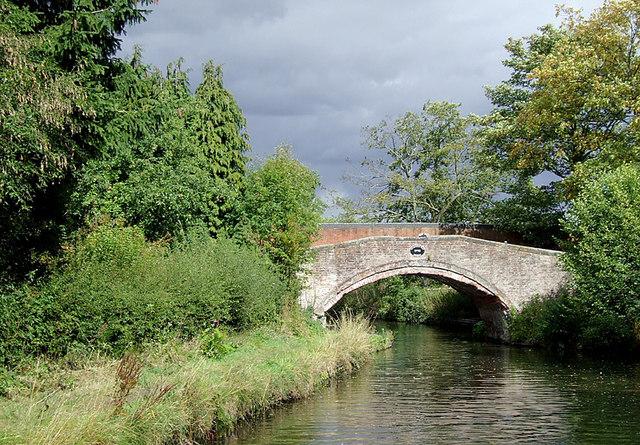 Gravelly Way Bridge near Four Ashes, Staffordshire