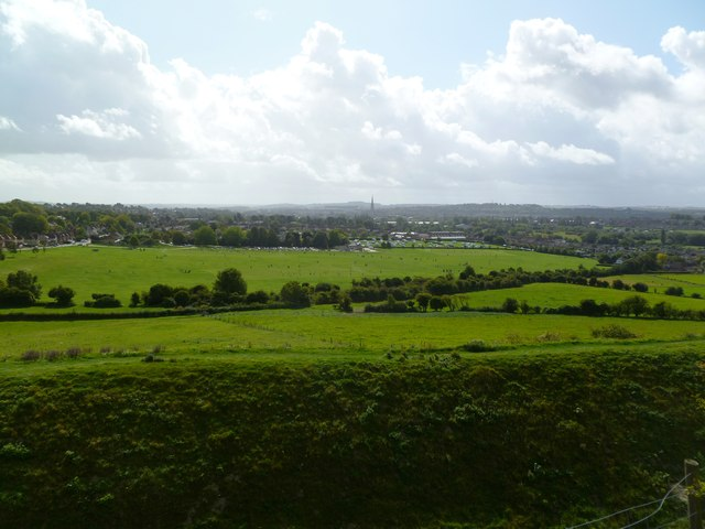 Old Sarum, view