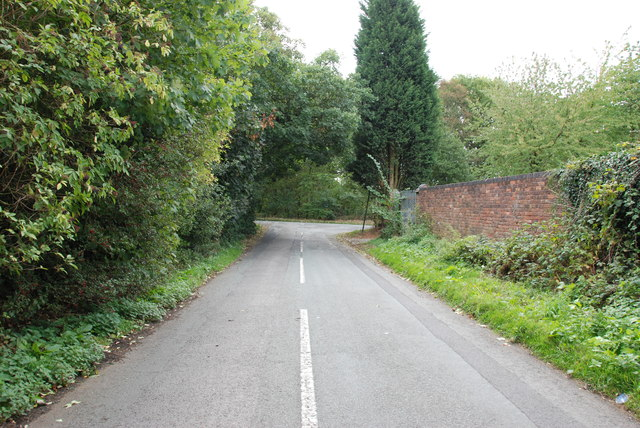 Old Warstone Lane to junction with Hilton Lane