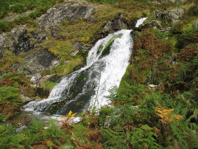 Waterfall on Cinderdale Beck