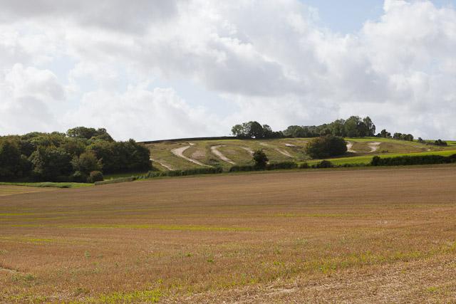 Motocross track on Peak Down
