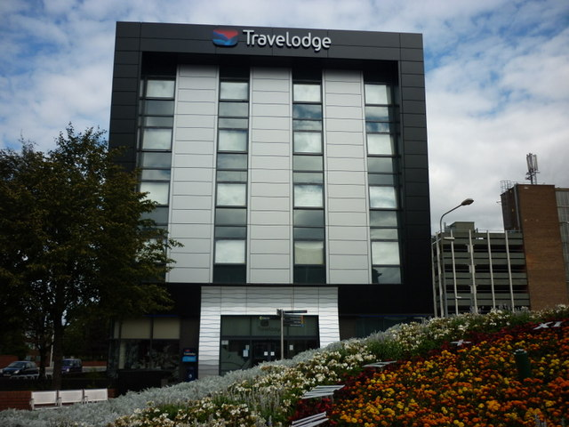 The new Travelodge on Freetown Way, Hull