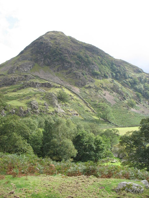 Rannerdale Knotts from the north