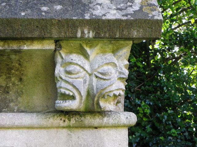 Detail, Ire Monger Mausoleum
