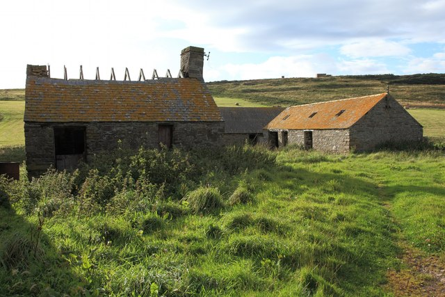 Derelict Farm Buildings at Mains of Ulbster