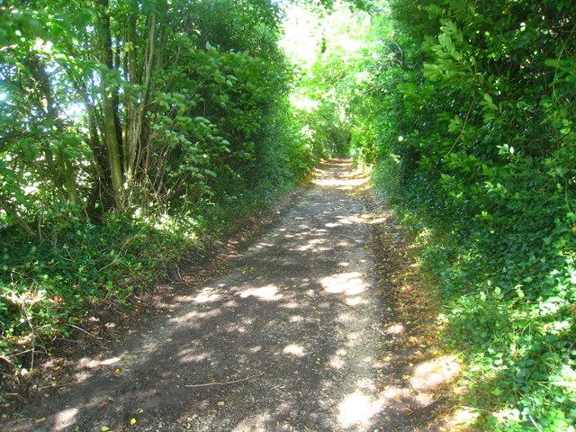 Greenhill Lane near Green Hill