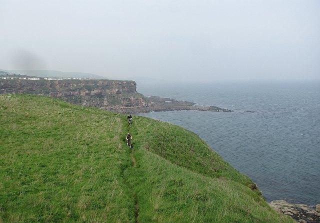 Coast path, Marshall Meadows
