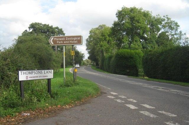 Thompsons Lane - Marwell