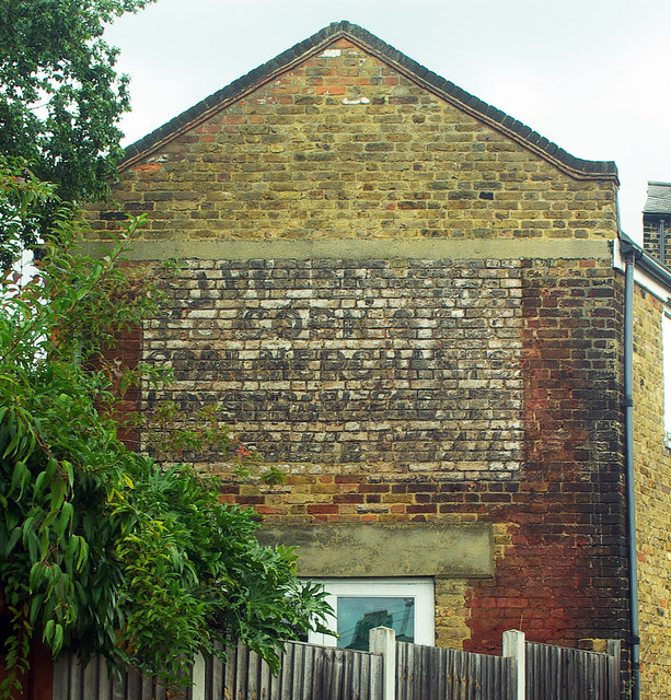 'Ghost sign', Point Hill, Greenwich