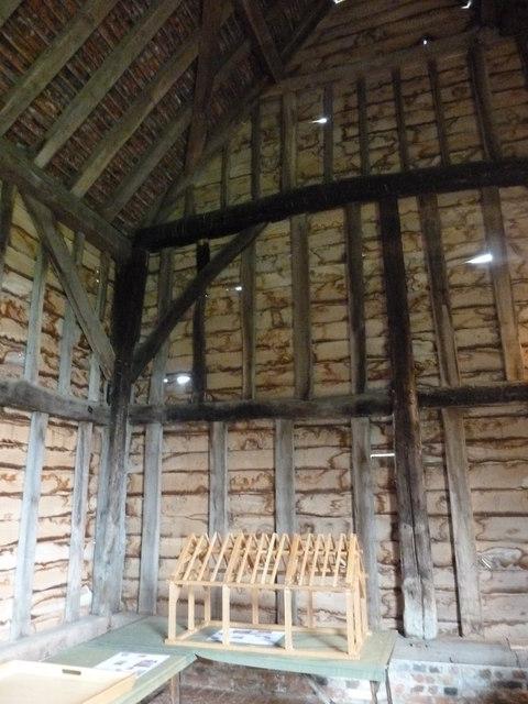 COAM 16: a model of a barn within Northolt Barn