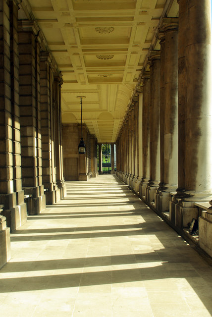 Colonnade, Old Royal Naval College, Greenwich