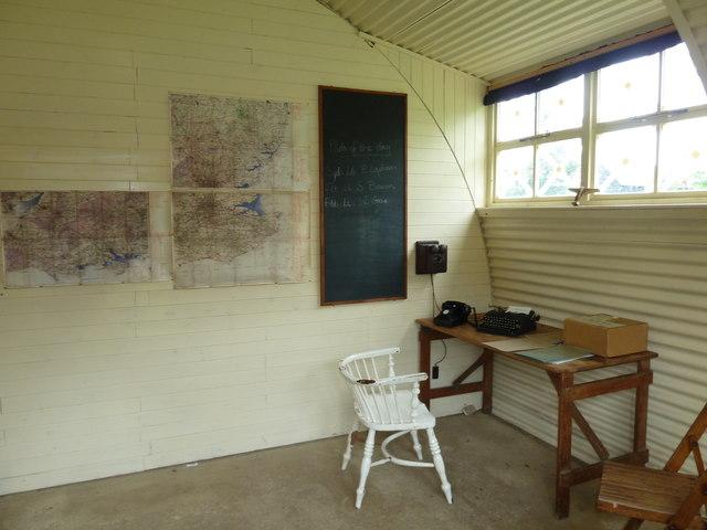 COAM 23: inside the Nissen Hut