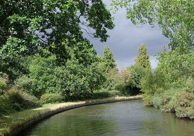 Staffordshire and Worcestershire Canal at Four Ashes, Staffordshire
