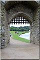 TQ8353 : Portcullis, Leeds Castle, Kent  by Christine Matthews