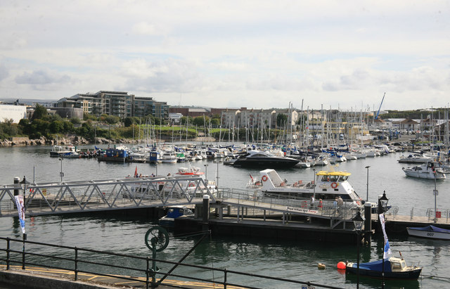 Boats a plenty at the Barbican