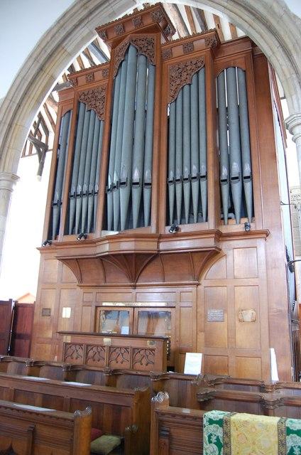 Organ in St Mary the Virgin Church, Rye Church