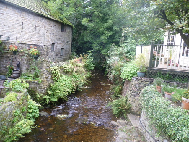 Stream near Hayfield