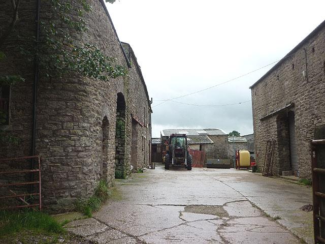 Farmyard at Riddlesay