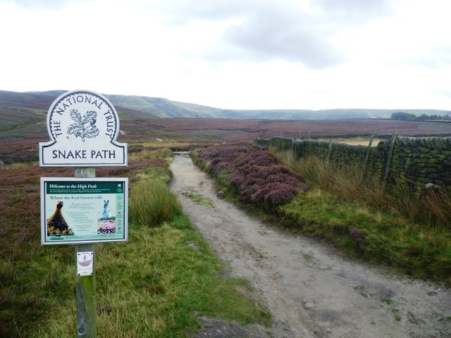 Snake Path on Middle Moor