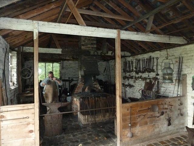 COAM 64: the blacksmith prepares for work