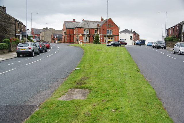 The split between Chorley Old Road and Chorley New Road