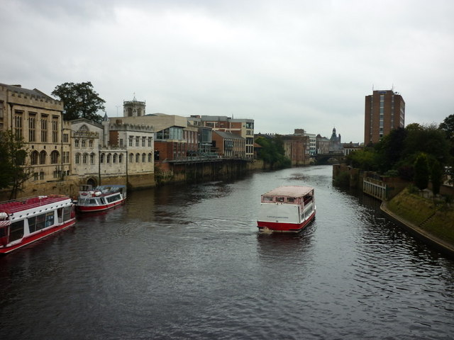 The River Ouse from Lendal Bridge